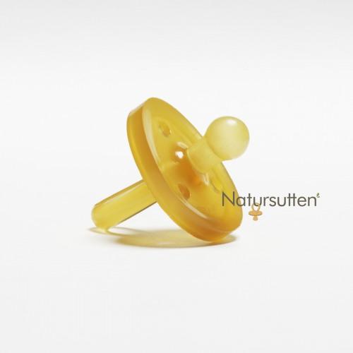 Natursutten Rubber Pacifier Round S - Orijinal Yuvarlak Küçük Boy Emzik - Thumbnail