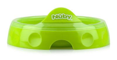 Nuby - Nuby 5412 Isı Koruyucu Tabak Yeşil