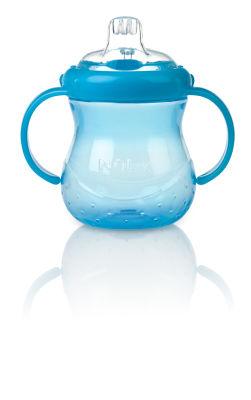 Nuby - Nuby 9810 İçimi Kolay Kulplu Bardak Mavi