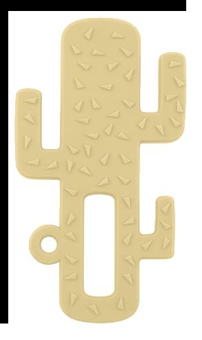 OiOi - Oioi Kaktüs Diş Kaşıyıcı Sarı