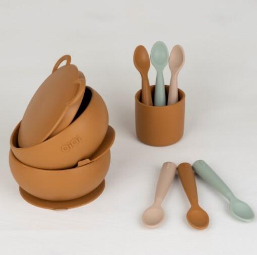 OiOi Mini Bardak - Woody Brown - Thumbnail