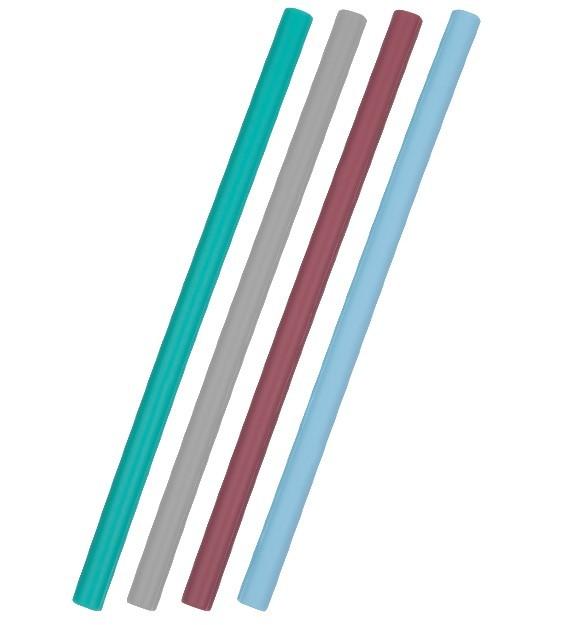 OiOi - OiOi Silikon Pipet 4'lü - Mavi Mix