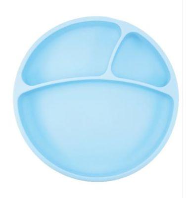 OiOi - Oioi Vakum Tabanlı Silikon Tabak Mavi
