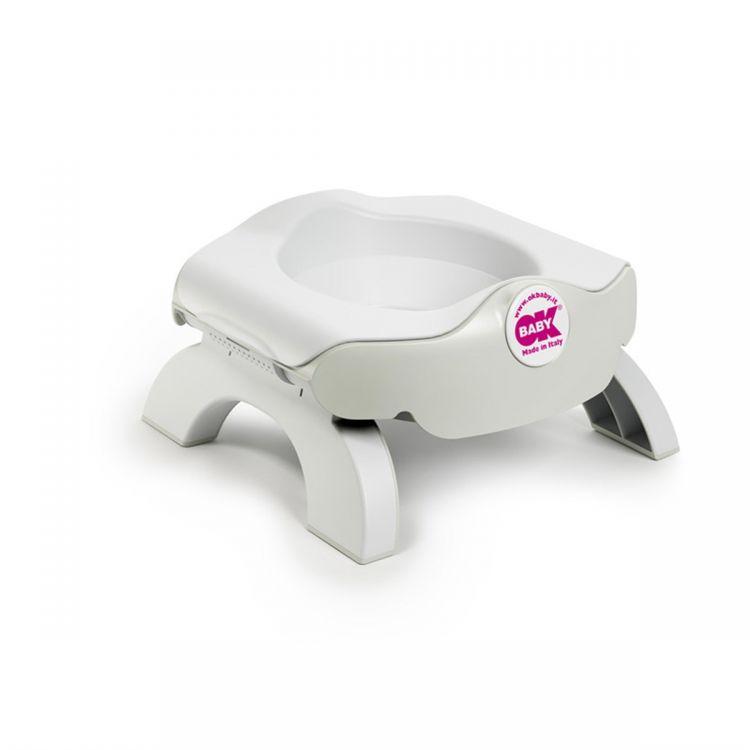 OkBaby - OkBaby Roady Katlanabilir Oturak & Klozet Adaptörü (Beyaz)