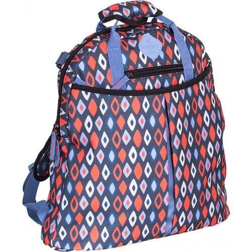 Okiedog - Okiedog Freckles Trek Kırmızı Mavi Anne Bebek Bakım Çantası