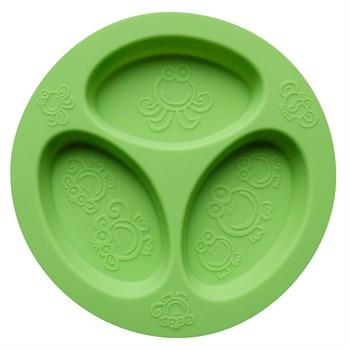 Oogaa - Oogaa Silikon Bölmeli Tabak - Yeşil