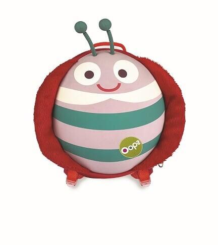 Oopps - Oopps Oval Sırt Çantası Uğur Böceği