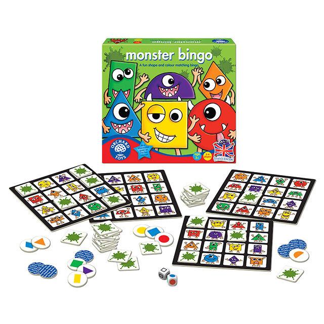Orchard Toys - Orchard Monster Bingo (Canavar Bingo) 3 Yaş+