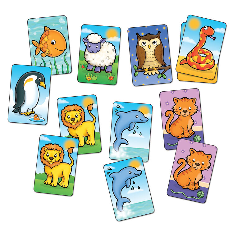Orchard Toys - Orchard Animal Match (Sevimli Hayvanlar) 3-6 Yaş
