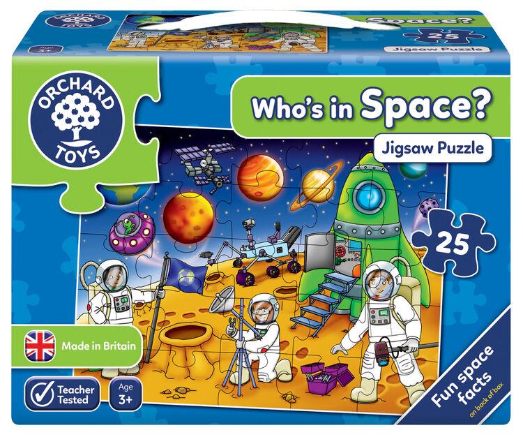 Orchard Toys - Orchard Who's In The Space? ( Uzayda Kimler Var ) 3 Yaş+