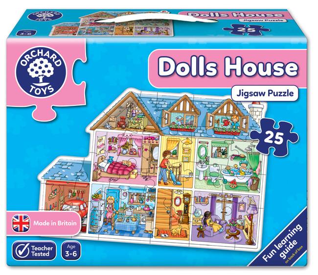 Orchard Toys - Orchard Dolls House (Bebek Evi Yapboz) 3-6 Yaş
