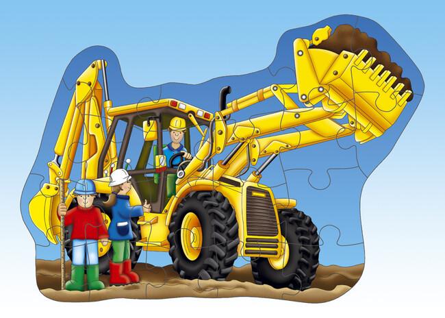 Orchard Big Digger (Büyük Kazıcı Yapboz) 3-6 Yaş - Thumbnail