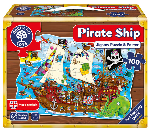 Orchard Toys - Orchard Pirate Ship ( Korsan Gemisi ) 5-9 Yaş