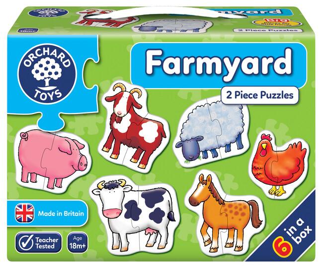 Orchard Toys - Orchard Farmyard ( Çiftlik ) 18 Ay+