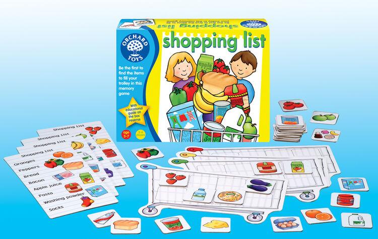Orchard Toys - Orchard Shopping List ( Alışveriş Listesi) 3-7 Yaş