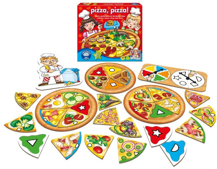 Orchard Toys - Orchard Pizza Pizza 3-7 Yaş