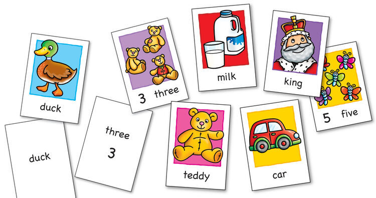 Orchard Toys - Orchard Flashcards (Çift Taraflı Hafıza Kartı) 3-7 Yaş