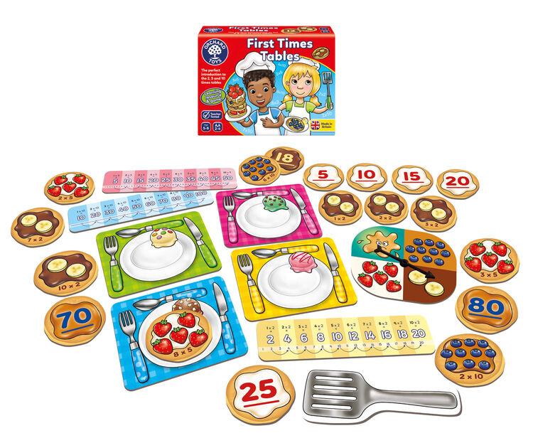Orchard Toys - Orchard First Times Table (Çarpma İşlemi) 5-8 Yaş