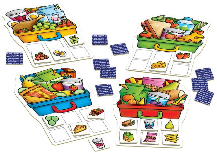 Orchard Toys - Orchard Lunchbox (Yemeksepeti Tombala Oyunu) 3-7 Yaş