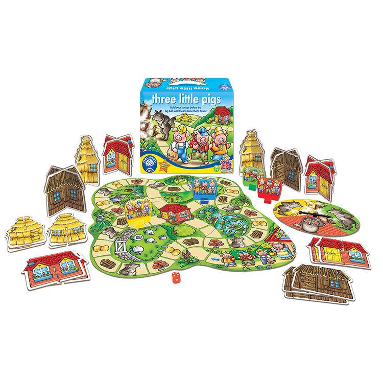 Orchard Toys - Orchard Three Little Pigs (Üç Küçük Domuzcuk ) 3-6 Yaş