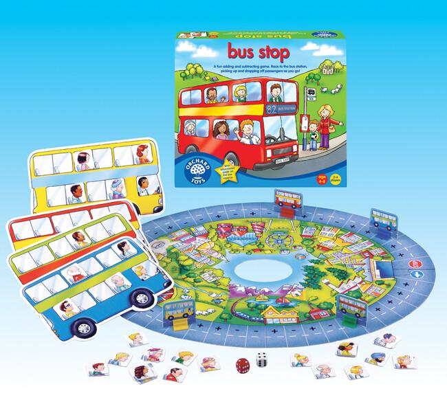 Orchard Toys - Orchard Bus Stop ( Otobüs Durağı ) 4-8 Yaş