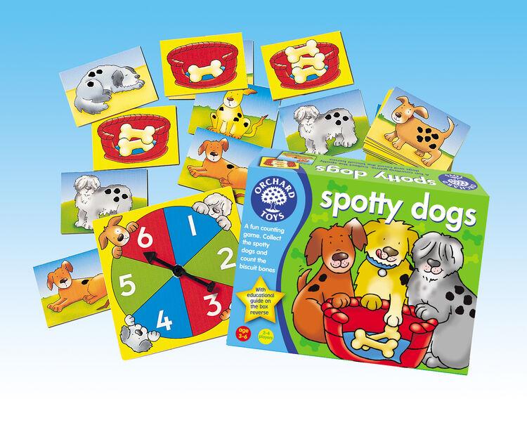 Orchard Toys - Orchard Spotty Dogs (Benekli Köpekler) 3-6 Yaş