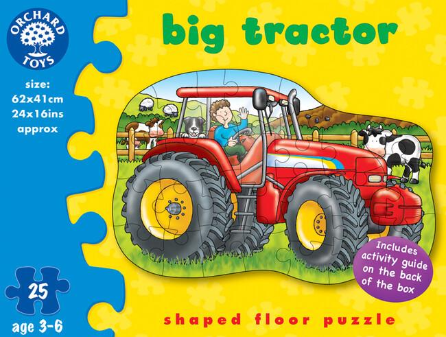Orchard Toys - Orchard Big Tractor ( Büyük Traktör ) 3-6 Yaş