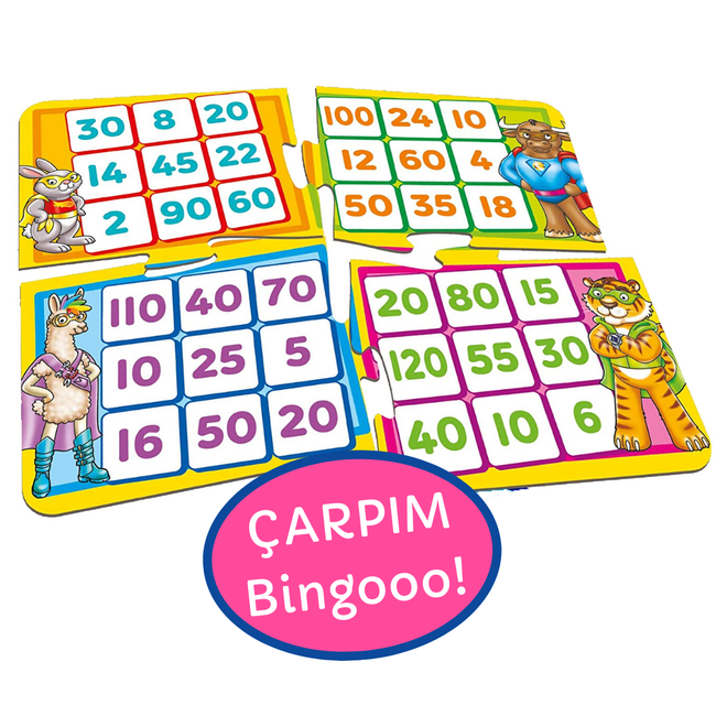 Orchard Toys - Orchard Times Tables Heroes 6-9 Yaş