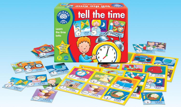 Orchard Toys - Orchard Tell The Time Lotto (Analoğ Ve Dijital Saat Tombala Oyunu) 5-9 Yaş