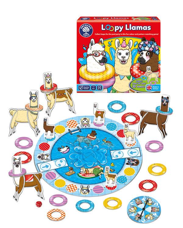 Orchard Toys - Orchard Loopy Llamas (Renk Ve Desen Eşleştirme Oyunu) 4 Yaş+