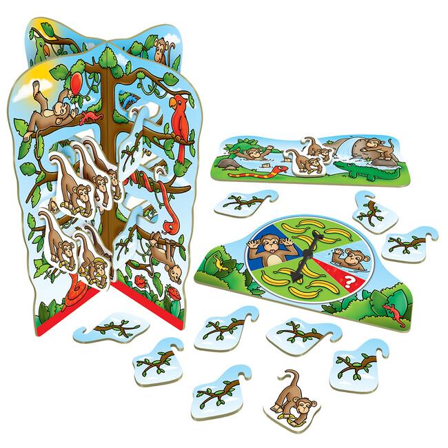 Orchard Toys - Orchard Cheeky Monkeys 4-8 Yaş