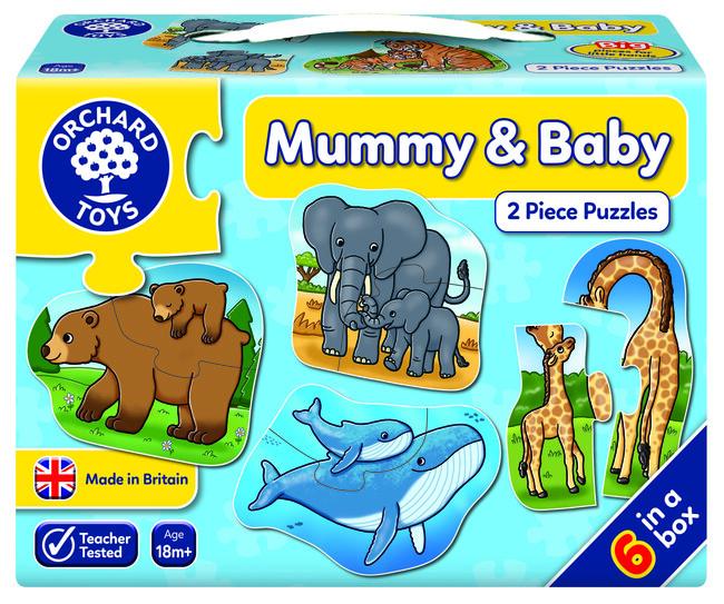 Orchard Toys - Orchard Mummy And Baby ( Anneler ve Çocukları ) 18 Ay+