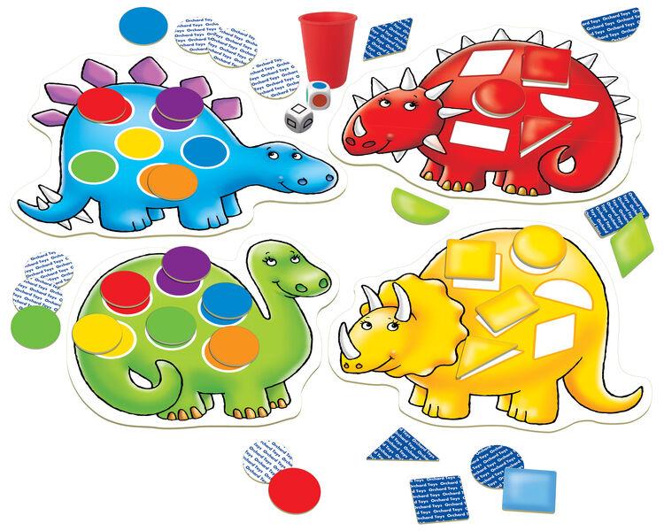 Orchard Toys - Orchard Dotty Dinosaurs (Dinozor Tombala Oyunu) 3-6 Yaş