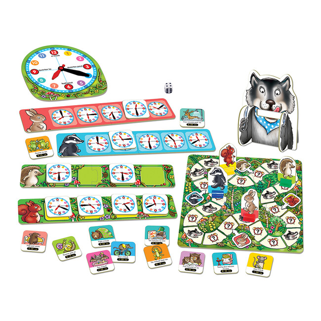 Orchard Toys - Orchard Whats The Time Mr. Wolf 5-9 Yaş