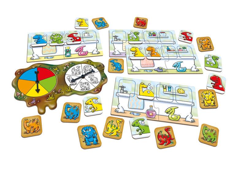 Orchard Toys - Orchard Dirty Dinos (Dinozor Çark Oyunu) 3-6 Yaş