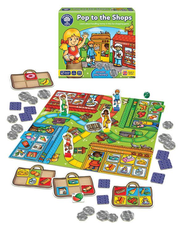 Orchard Toys - Orchard Pop To The Shops (Alışveriş Oyunu) 5-9 Yaş