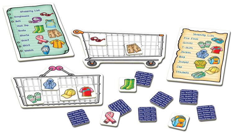 Orchard Toys - Orchard Shopping List Clothes ( Alışveriş Arabası Giysi) 3-7 Yaş