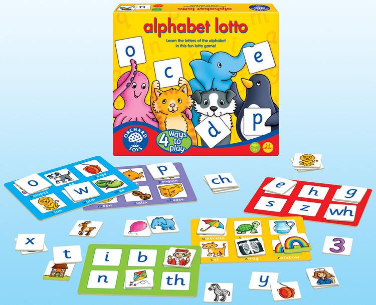 Orchard Toys - Orchard Alphabet Lotto (Alfabe Tombala) 3-6 Yaş
