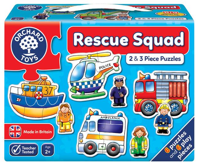 Orchard Toys - Orchard Rescue Squad (Kurtarma Ekibi Yapbozu) 2 Yaş+
