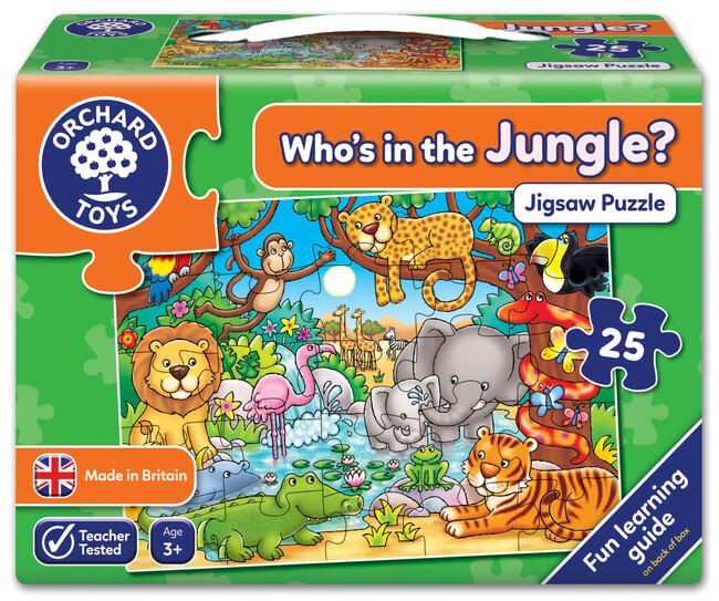 Orchard Toys - Orchard Who's In The Jungle? ( Ormanda Kimler Var?) 3 Yaş+