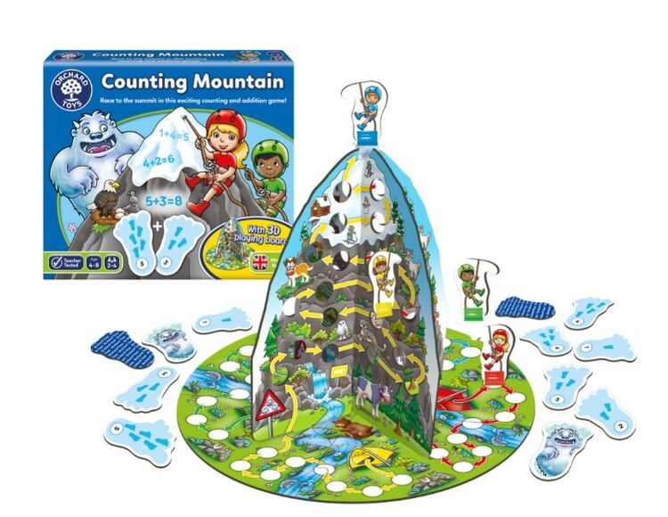 Orchard Toys - Orchard Counting Mountain (Sayı Dağı Tırmanışı) 4-8 Yaş
