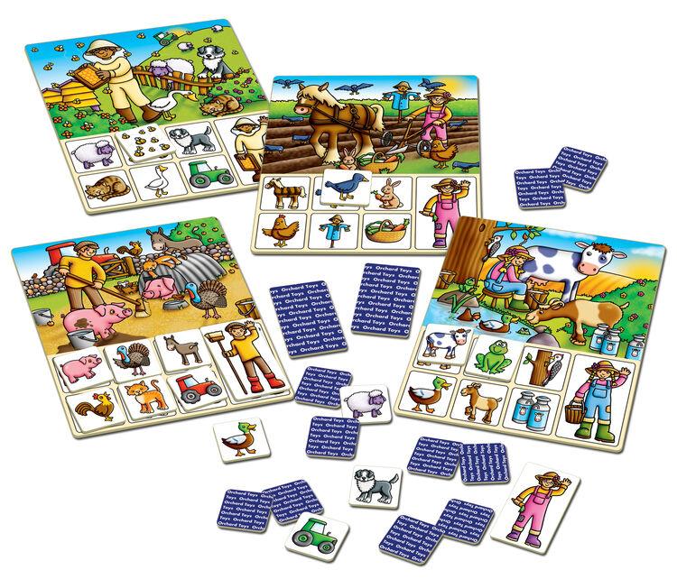 Orchard Toys - Orchard Old Macdonald Lotto (Ali Baba Tombala) 3-6 Yaş