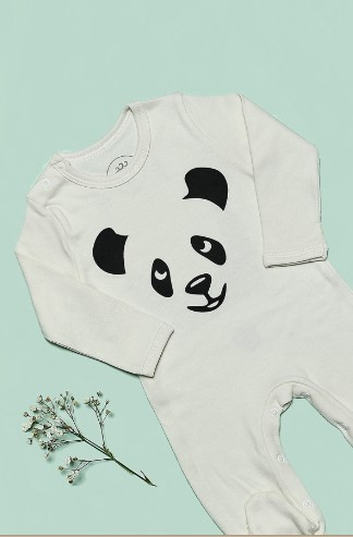 Bluuh Baby - Organik Tulum Panda