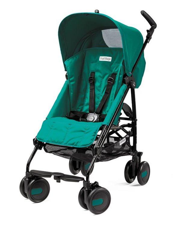 Peg Perego - Peg Perego Pliko Mini Baston Bebek Arabası AuguMarine (Yeşil)