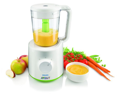 Avent - Philips Avent Buharlı Pişirici ve Blender Wasabi (SCF870/22) (1)