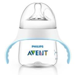 Avent - Philips Avent Natural Eğitici Biberon (150 ml) 4ay+ 3 delik SCF251/00