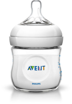 Avent - Philips Avent Natural PP Biberon 125ml Tekli (SCF690/17)
