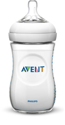 Avent - Philips Avent Natural PP Biberon 260ml Tekli (SCF693/17 )