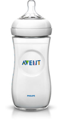 Avent - Philips Avent Natural PP Biberon 330ml Tekli (SCF696/17 )