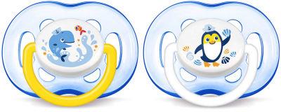 Avent - Philips Avent SCF186/24 0% BPA Yalancı Emzik 18 + 2'li (Erkek)